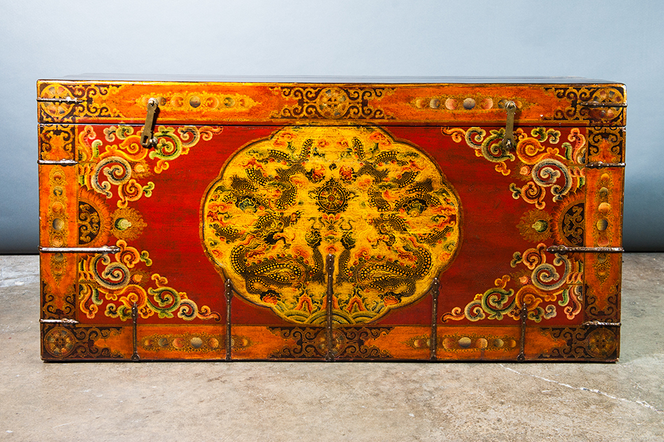 A179 Extra Large Tibetan Chest Lal Best Of Both