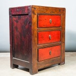 A002 – Small Cabinet – Dresser (LAC) - detail