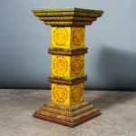 A027 – Tibetan tea table/pedestal (LUE) - detail
